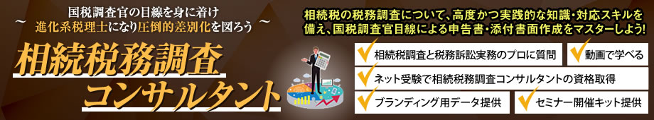 相続税務調査コンサルタント